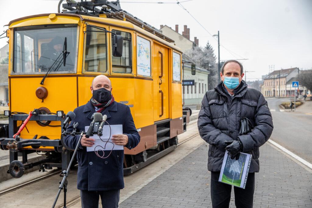 Hazánk első vasútvillamos-vonalát tesztelik a Dél-Alföldön