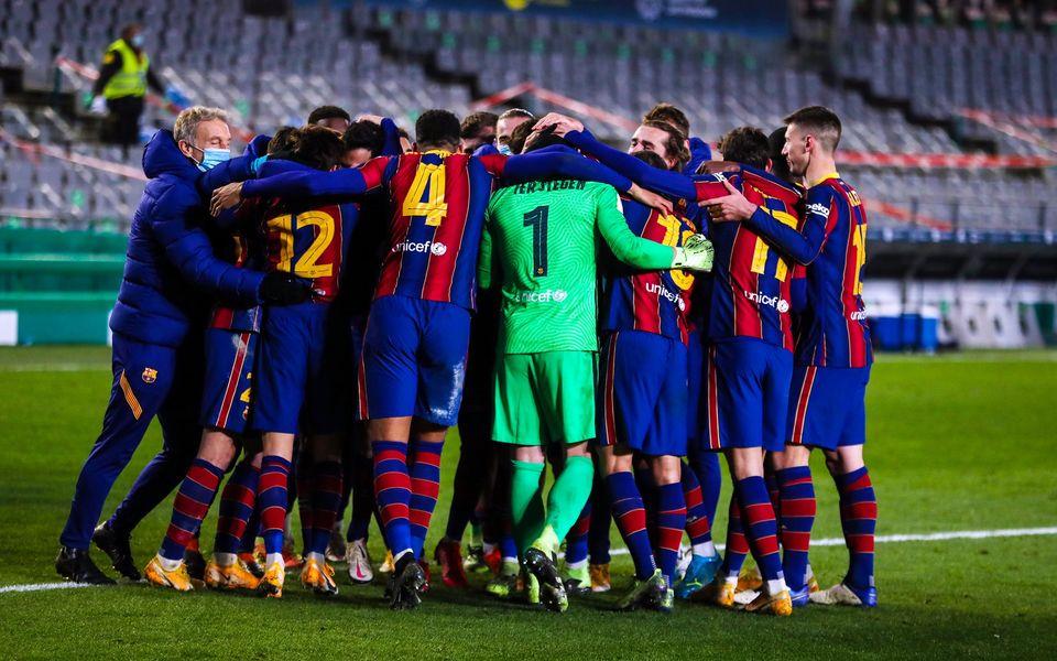 Sorsdöntő meccse lesz ma az FC Barcelona csapatának
