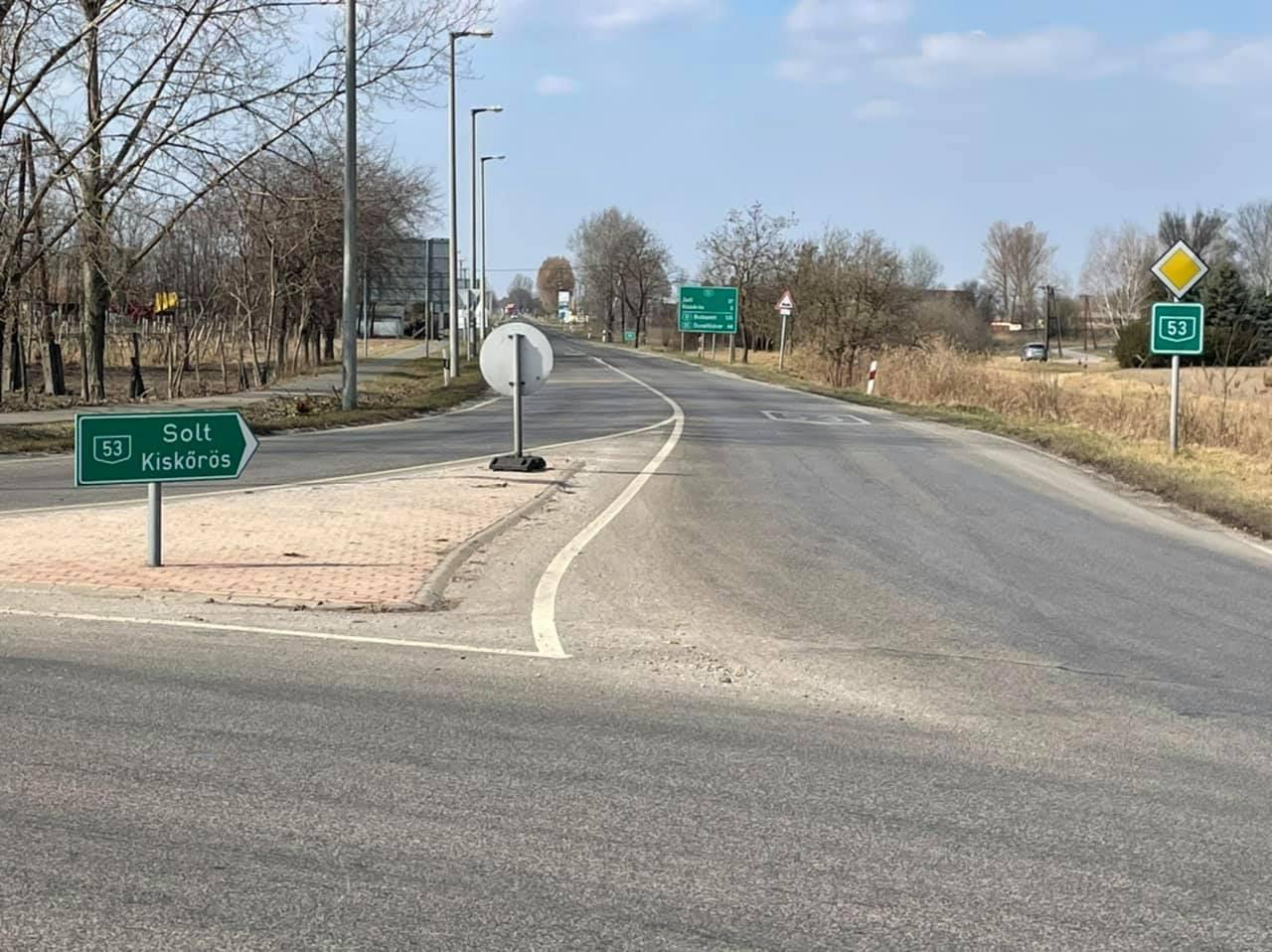 A jövő héten kezdik el az 53-as főút felújítását