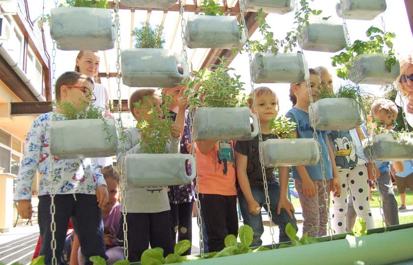 Együtt kertészkednek a félegyházi óvodások