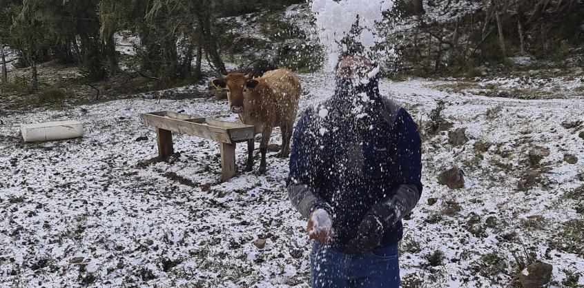 Évtizedek óta nem volt ilyen, szakad a hó Braziliában