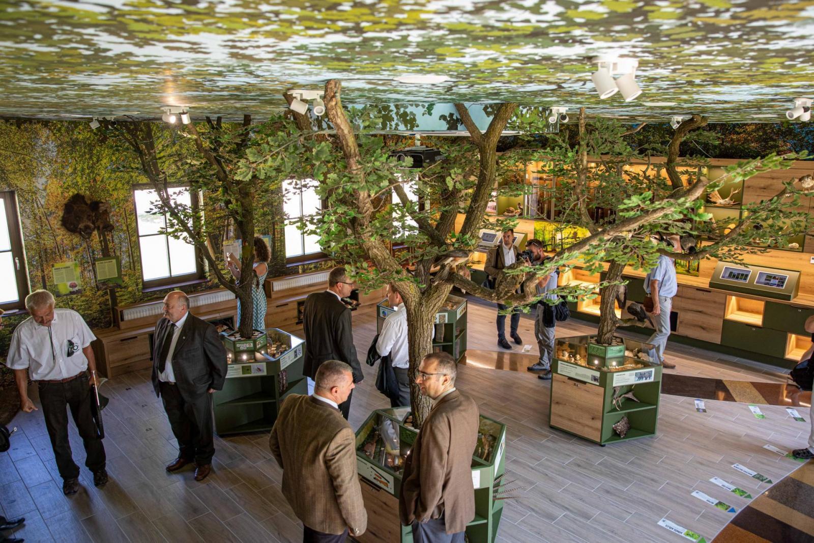 Átadták az Erdő Háza ökoturisztikai látogatóközpontot a Soproni Parkerdőben