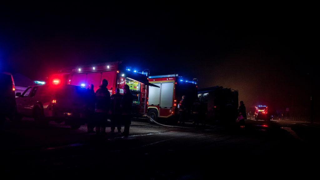 Hatalmas tűz volt Hódmezővásárhelyen