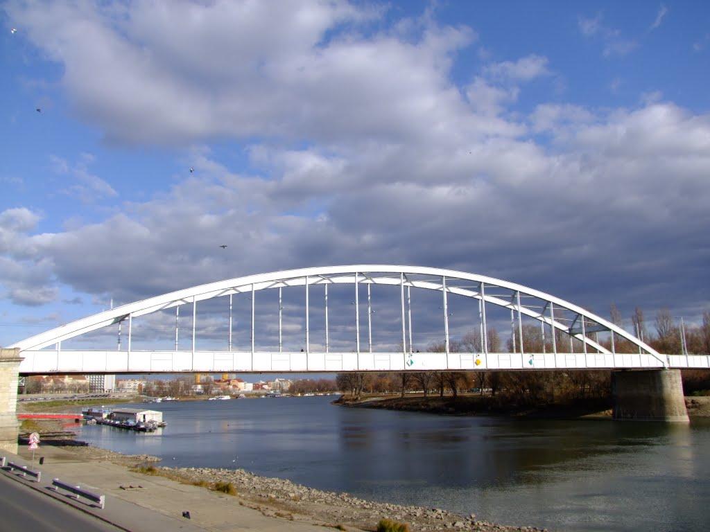 A Tiszába ugrott egy férfi ma hajnalban a Belvárosi hídról, a holttestét is megtalálták